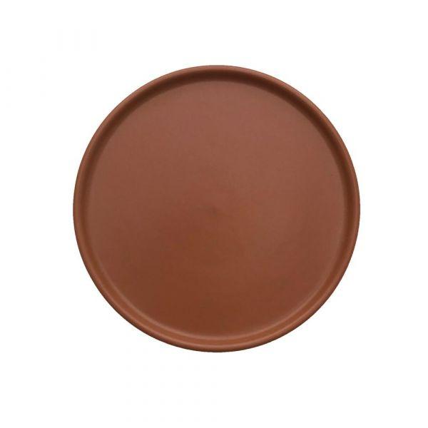 Inka Lunch Dessert Plate 2 Pack / Caramel