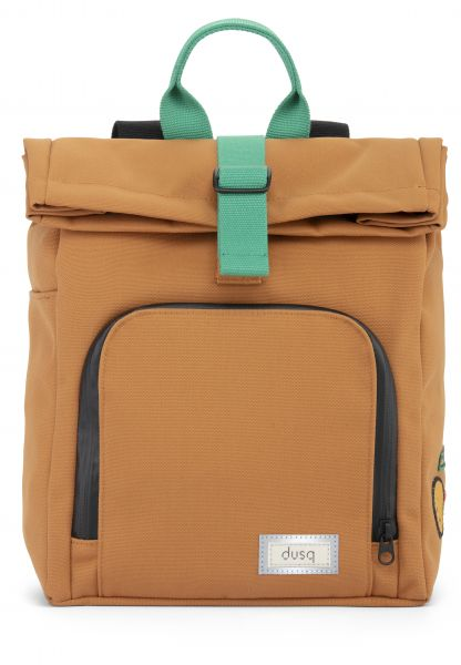 Mini Bag Canvas / Sunset Cognac - Forest Green