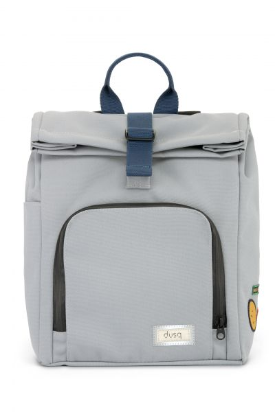 Mini Bag Canvas / Cloud Grey - Ocean Blue