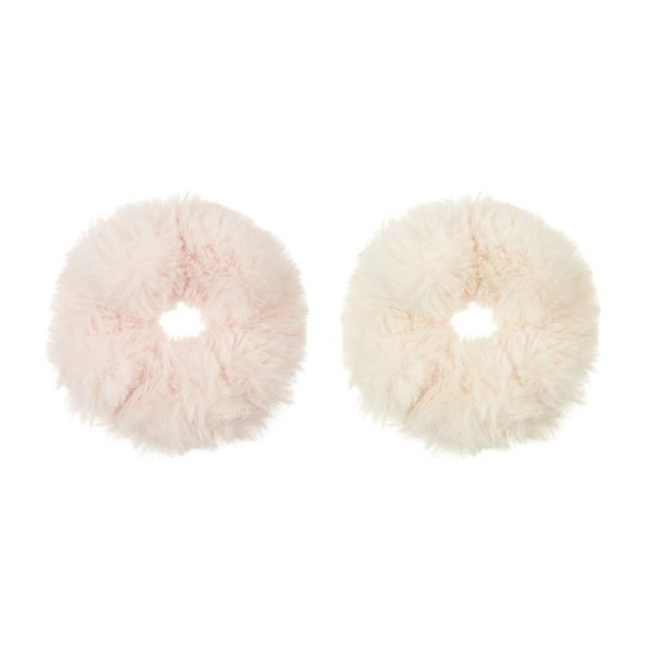 Supersoft Furry Scrunchies