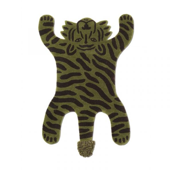 Safari Tufted Rug / Tiger