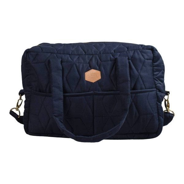Mommybag soft quilt / Dark blue