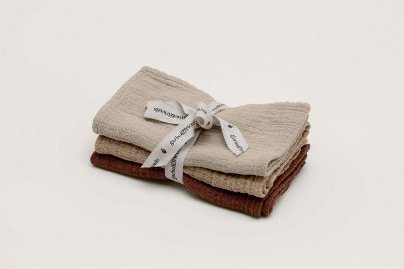 Hay Burp Cloths 3 pcs
