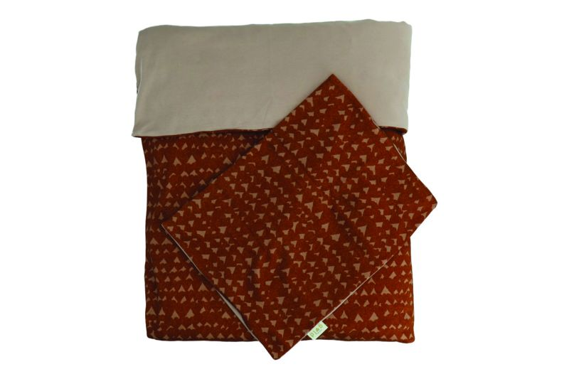 Dami Duvet & Pillow Cover / Hearts Sienna
