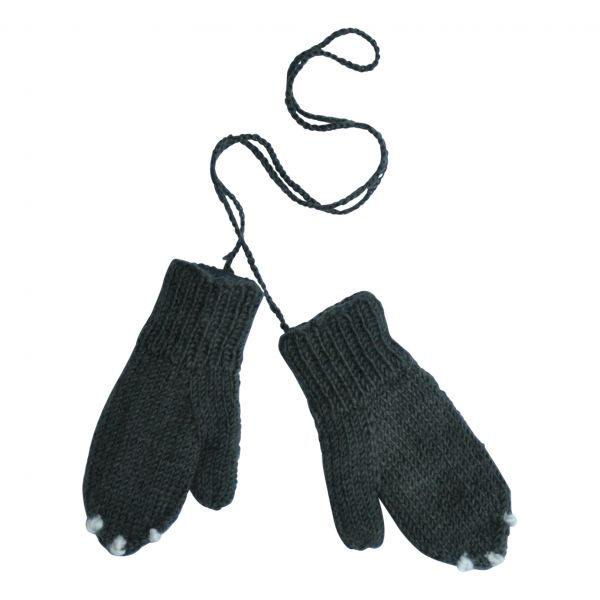 Skunk Gloves / Dark Grey
