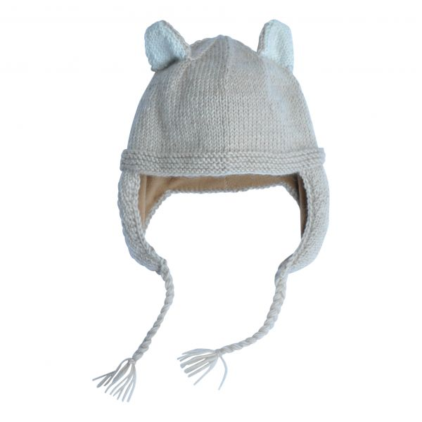 Skunk Hat / beige