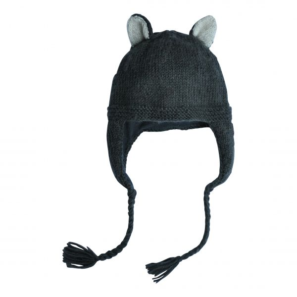 Skunk Hat / Dark Grey