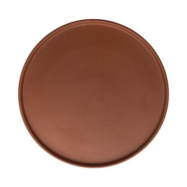 Inka Dinner Plate 2 Pack / Caramel