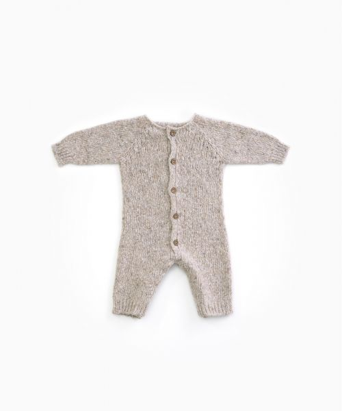 Knitted Jumpsuit / Woodwork