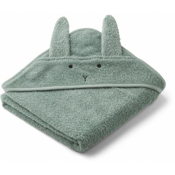 Albert Hooded Towel / Rabbit Peppermint