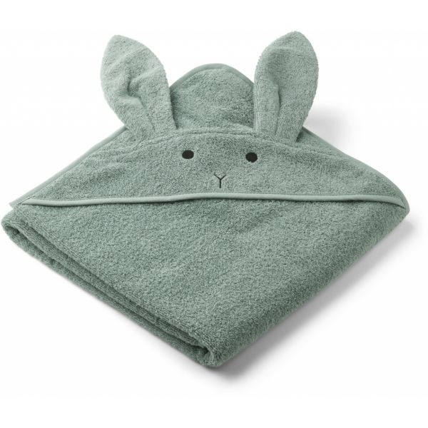 Augusta Hooded Towel / Rabbit Peppermint