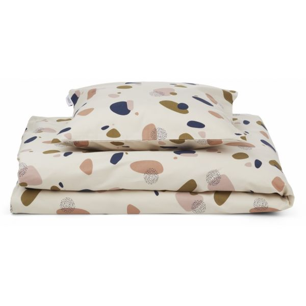 Ingeborg Junior Bedding Print / Bubbly Sandy