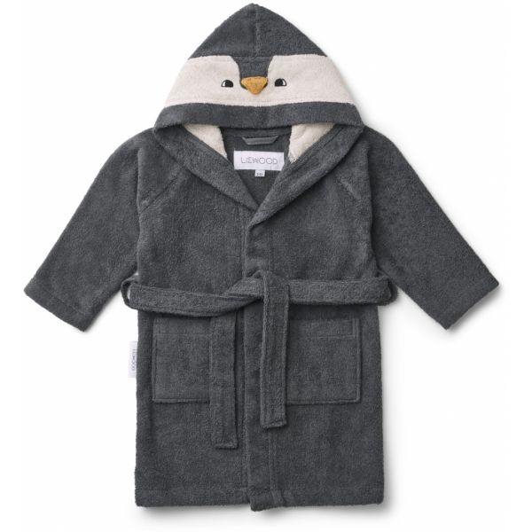 Lily Bathrobe / Penguin Stone Grey