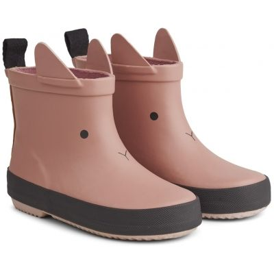 Tobi Rain Boot / Rabbit Dark Rose