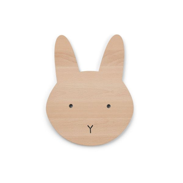 Troy Wooden Lamp / Rabbit Natural