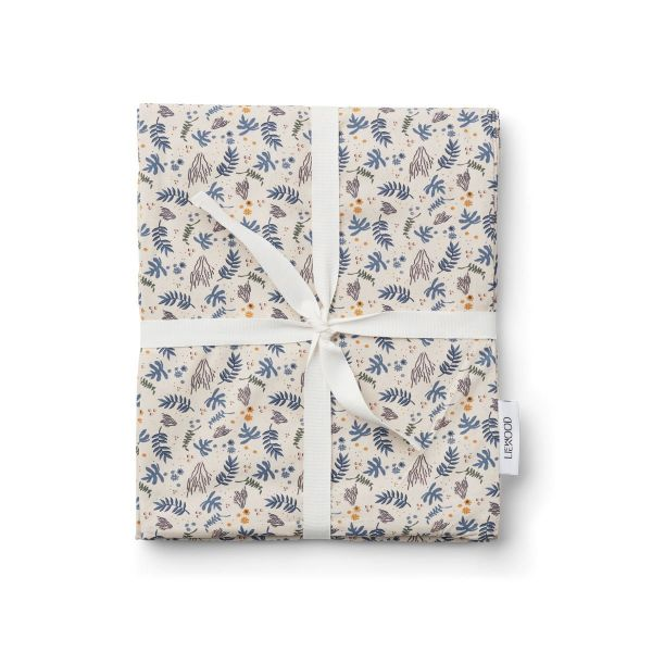 Carl Adult Bedding Print / Coral Floral Mix