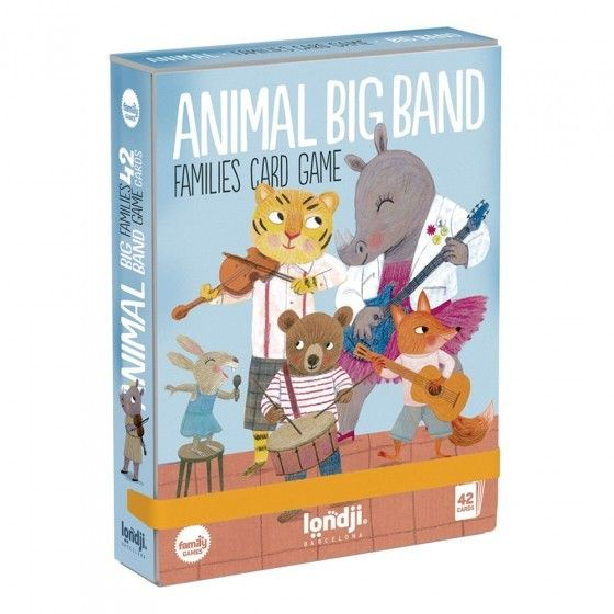 Card Game - Animals Big Band