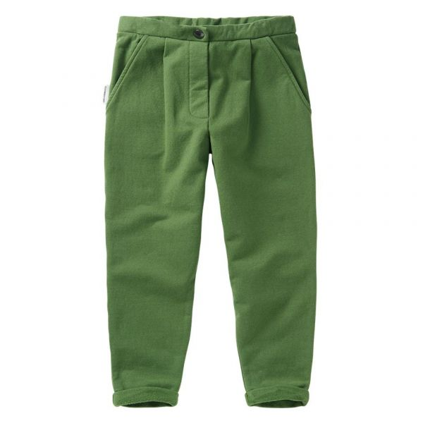 Cropped Chino / Moss Green