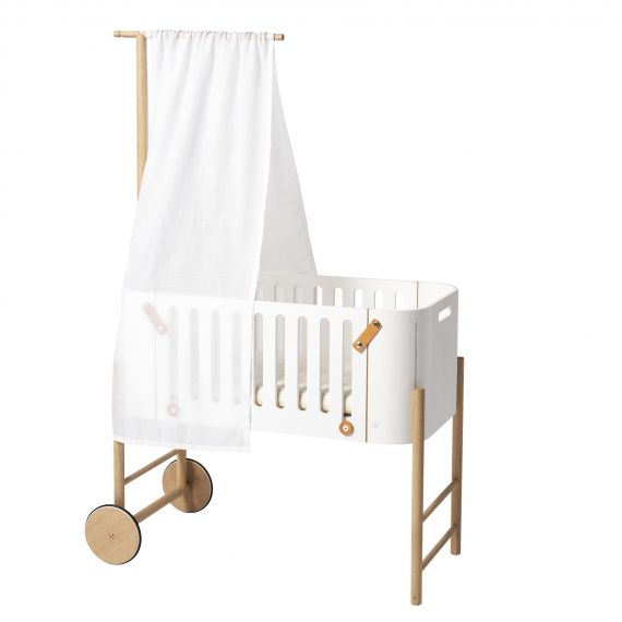 Bed Canopy for Co-Sleeper White