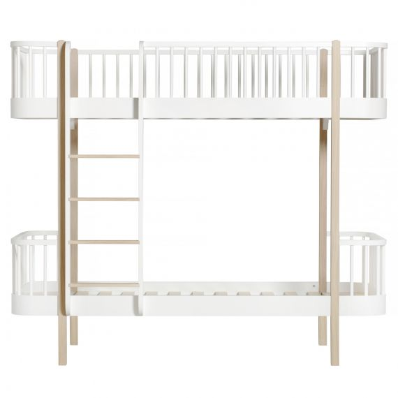 Wood Bunk Bed / Oak