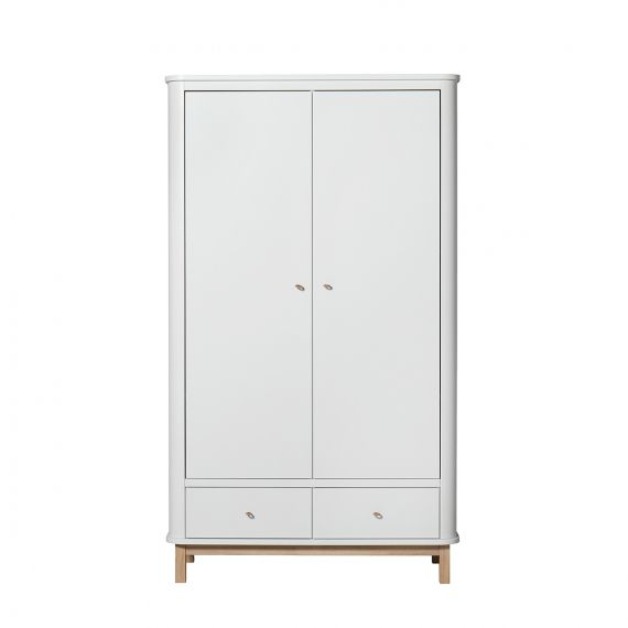 Wood wardrobe 2 doors / Oak