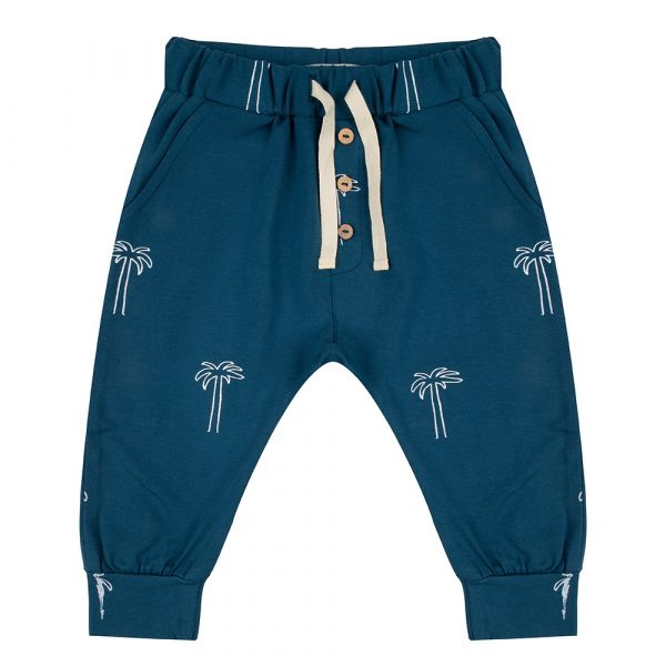 Pants Palmtrees / Legion Blue