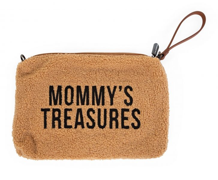 Mommy Clutch / Teddy Beige
