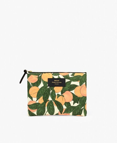 Large Pouch Bag / Peach