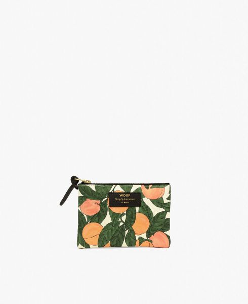 Small Pouch Bag / Peach