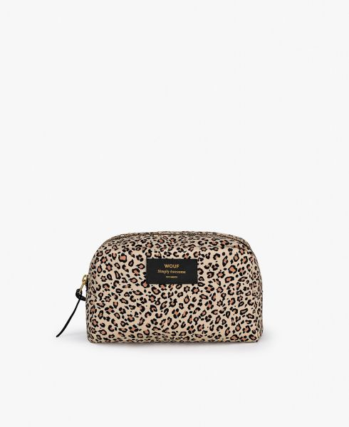 Big Makeup Bag / Pink Savannah