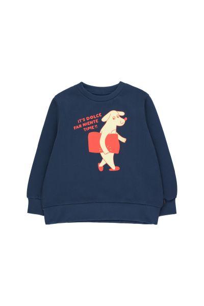 DFN Time Sweatshirt / Light Navy - Lemonade