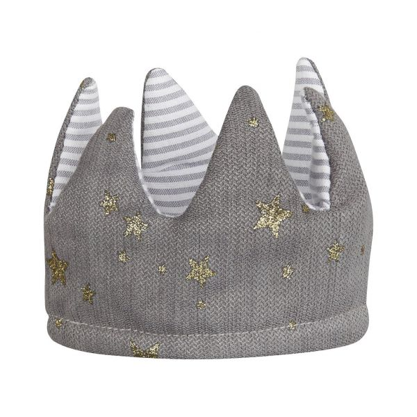 Queen Mimi Reversible Crown / Grey