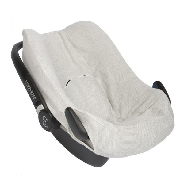 Car Seat Cover / Powder Stripes