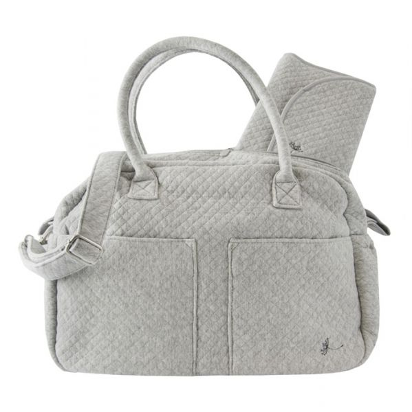 Diaper Bag / Mineral Grey