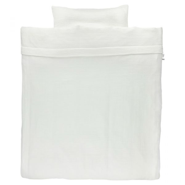 Cot Duvet Cover / Bliss White
