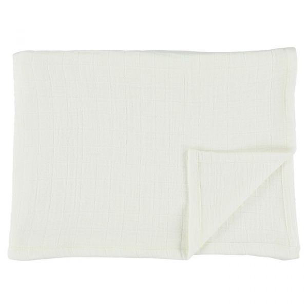 Muslin Cloths 55x55cm 3 pcs / Bliss White