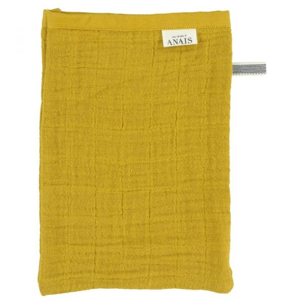 Muslin Washcloths (2pcs) / Bliss Mustard