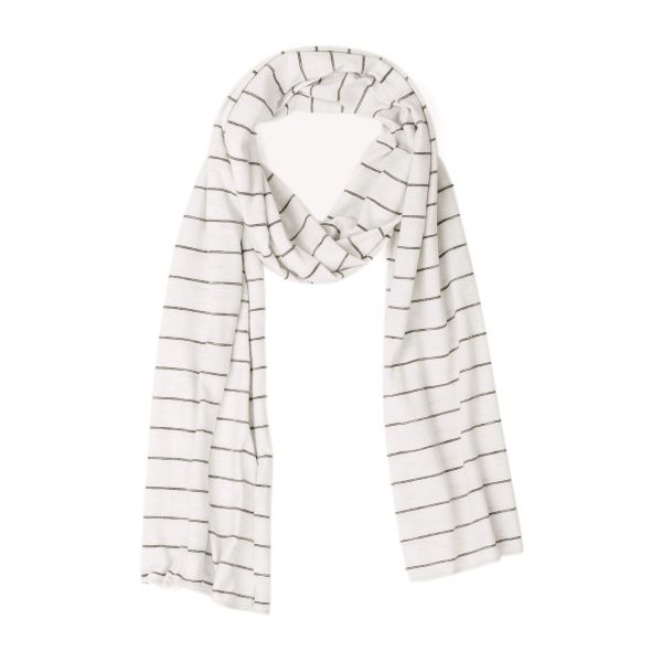 Summer Scarf Lines / Vanilla Stripe