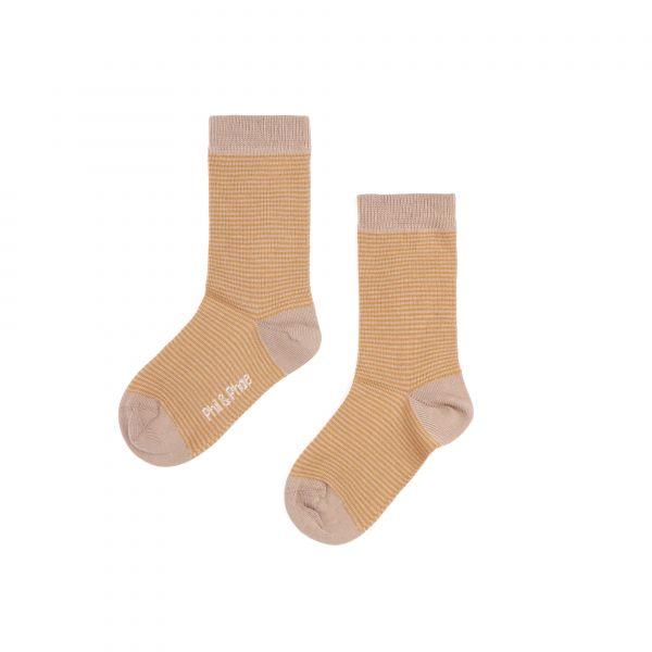 Striped Socks / Golden Stripe