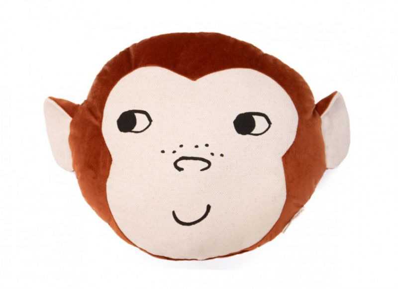 Monkey Cushion / Wild Brown