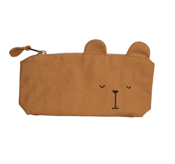 Pencil Case / Bear Ochre