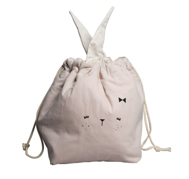 Storage Bag Small / Bunny Mauve