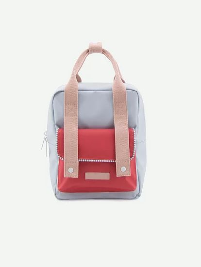 Backpack Envelope Deluxe S / Blue - Red - Pink