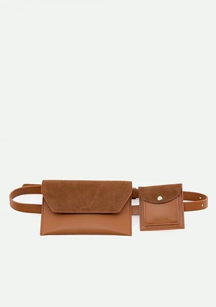 The Sticky Sis Club / Belt Bag Ton Sur Ton Cider Brown