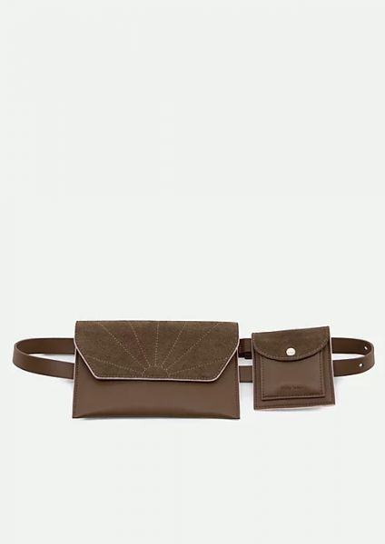 The Sticky Sis Club / Belt Bag Ton Sur Ton Olive Green
