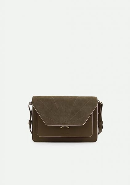 The Sticky Sis Club / Satchel Ton Sur Ton Olive Green