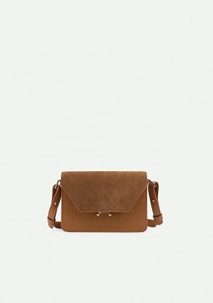The Sticky Sis Club / Schoulder Bag Ton Sur Ton Cider Brown