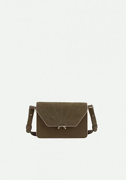 The Sticky Sis Club / Schoulder Bag Ton Sur Ton Olive Green