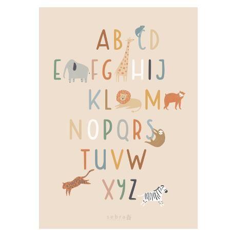 Poster alphabet / Wildlife