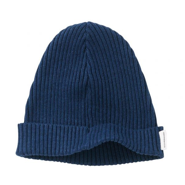 Soft Knit Beanie / Midnight Blue